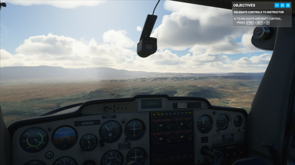 FS2020 with clouds